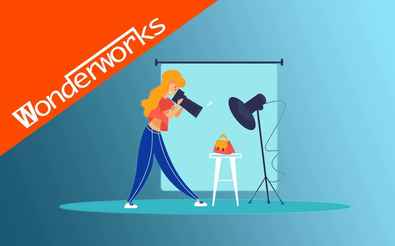 WonderWorks bejegyzések, 360°-os termékfotózás, webshopfotózás
